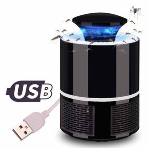 Usb Light-Sensitive Led Mosquito Killer Lamp Electric Fly Bug Insect Zapper - Black - Free Shipping - Electronics - Electronics - $25.00 |