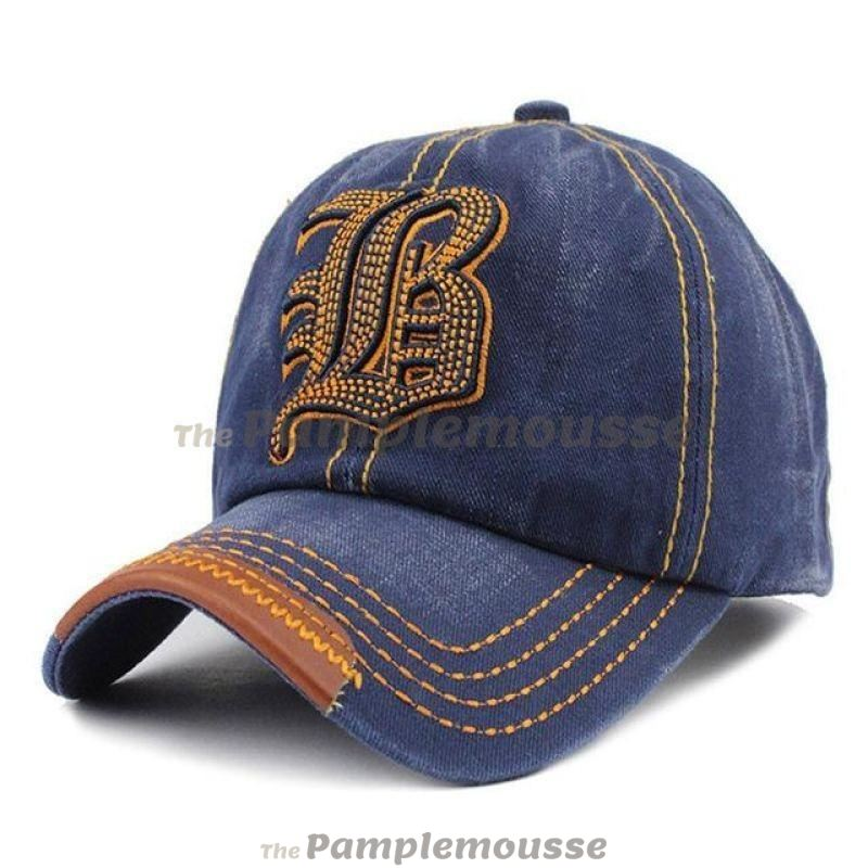 ... for whole family 79053 bc792 Vintage Washed Cotton Design Baseball Cap  Adjustable Snapback Embroidered Trucker Hat ... 638689591