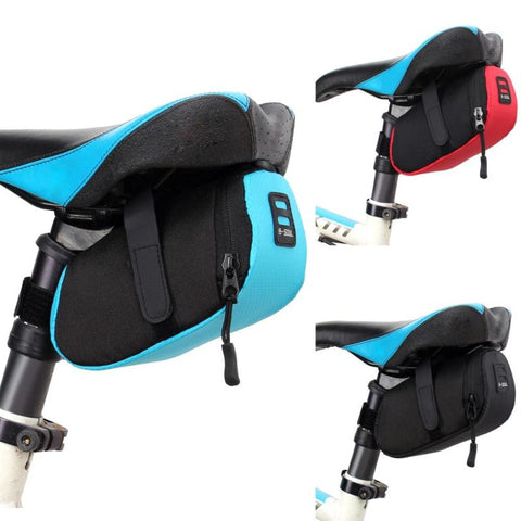 Waterproof Mini Mountain Bike Saddle Bag - Blue - Free Shipping - Outdoor - $8.90 | The Pamplemousse