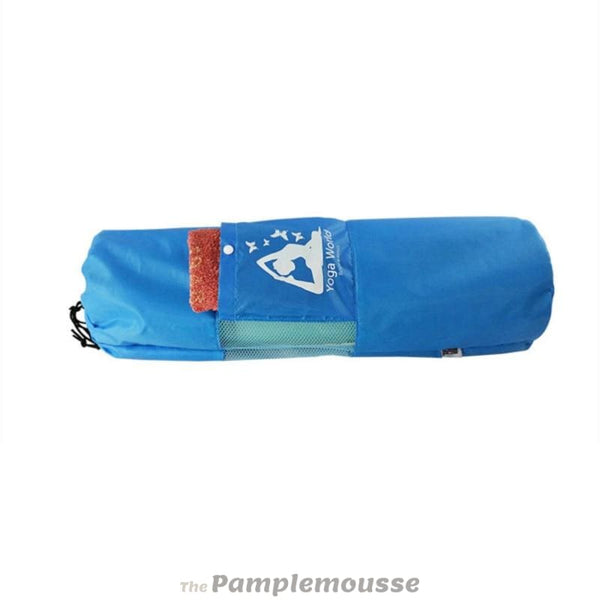 Waterproof Yoga Mat Bag Gym Mat Bag Yoga Pilates Mat Case - Blue - Free Shipping - Sports - Bags - $9.00 | The Pamplemousse