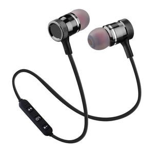 Wireless Bluetooth Earphone Stereo Music Sport Headphone In Ear Headset With Mic - Black - Free Shipping - Electronics - Electronics -