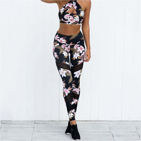 Women Floral Print Fitness Best Yoga Pants Ladies Sport Running Workout Training Leggings - Free Shipping - Outdoor - Outdoor - $19.00 | The