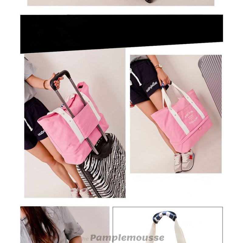 2d590764f07e Women Foldable Independent Shoes Storage Gym Bag Outdoor Travel Shoulder Bag  - Free Shipping - Accessories