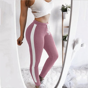 Women High Waist Fitness Active Workout Leggings Running Gym Stretch Sports Pants - Pink / S - Free Shipping - Fashion - Clothing - $19.00 |