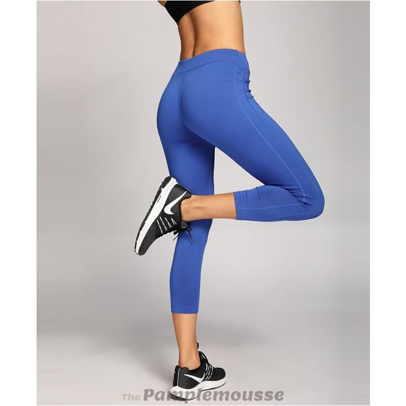 3cd52cf8c44a8 Womens Activewear Running Workout Sports Capri Tight Fit Leggings Pants - Free  Shipping - Sports -