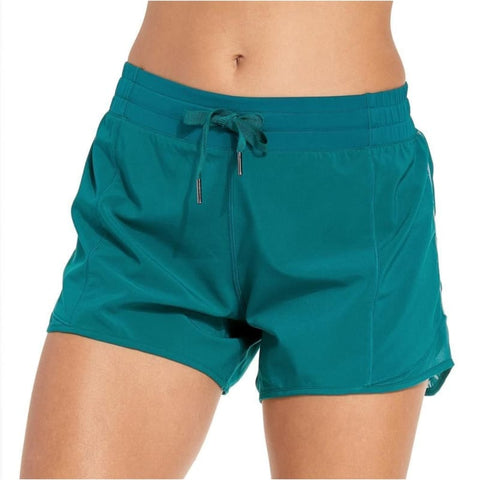 Womens Drawstring Waist Fitness Athletic Gym Shorts With Pocket - Free Shipping - Sports - Clothing - $29.00 | The Pamplemousse