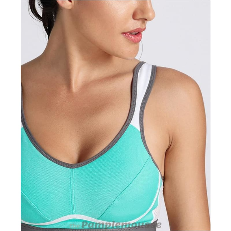 65036b979ee Womens High Impact Support Bounce Control Workout Plus Size Sports Bra -  Free Shipping - Sports