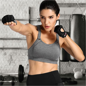 Womens High Impact Wire Free Full Coverage Lightly Padded Sports Bra - Free Shipping - Sports - Clothing - $23.00 | The Pamplemousse