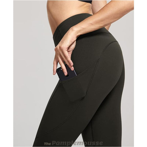 Womens High Waist Tummy Control Stretchy Sport Running Leggings With Out Pocket - Free Shipping - Sports - Clothing - $39.00 | The