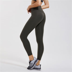 Womens Hugged Feeling High Waist Yoga Pants Training Leggings With Pocket - Free Shipping - Sports - Clothing - $39.00 | The Pamplemousse
