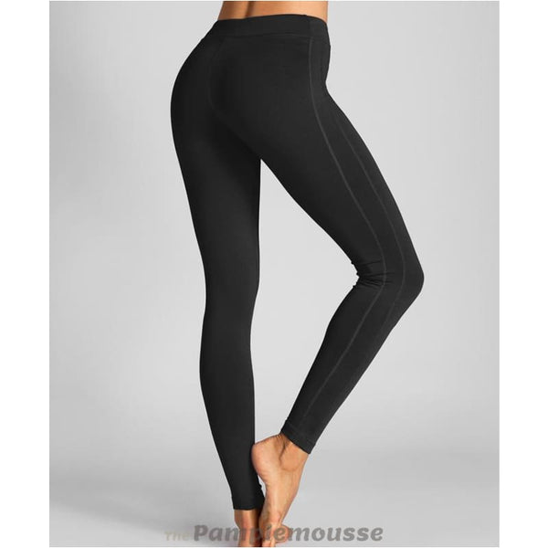 Womens Tights Workout Comfort Flex Running Sports Leggings Pants - Black / M - Free Shipping - Sports - Clothing - $19.00 | The Pamplemousse