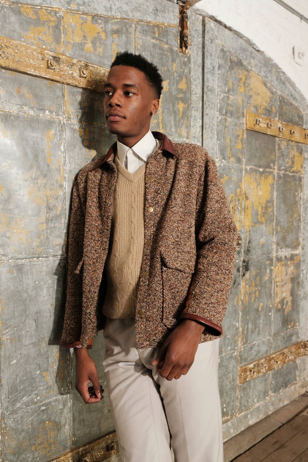 Pre-Order Now: Donegal Tweed Bomber