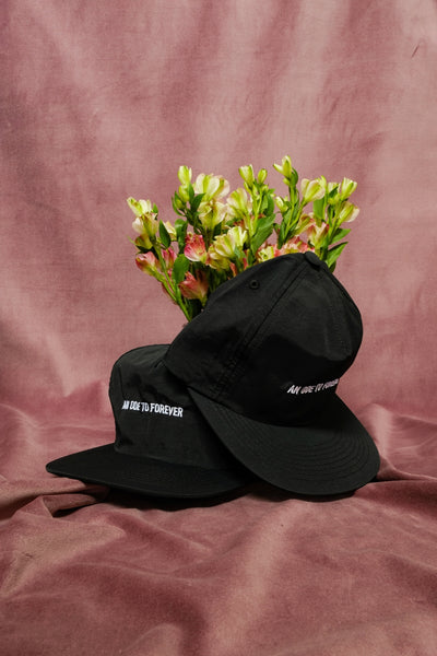 An Ode To Forever - Black Nylon Hats