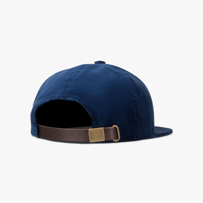 Velveteen Hat - Royal