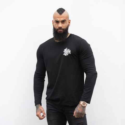 Three Beast Logo Long Sleeved T-Shirt