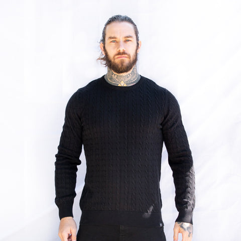 Men's Vår Jumper (Black)