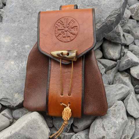 Vegvisir soft belt bag (Light brown)