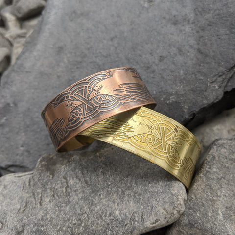 Hugin and Munin cuff