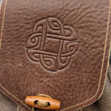 Norse Knot Belt Bag (Light Brown)
