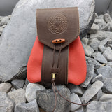 Norse Knot Belt Bag (Red)