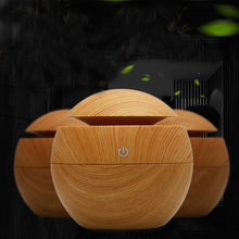 Load image into Gallery viewer, Mini Wooden Aromatherapy Diffuser