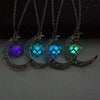 Image of Glowing Moon Pendant Necklace