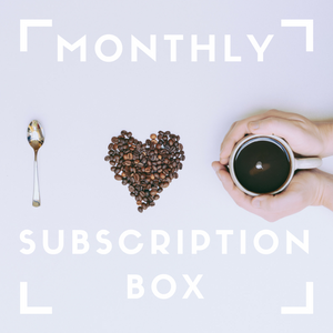Monthly Subscription Box: COFFEE IS LIFE (Four 16oz bags)