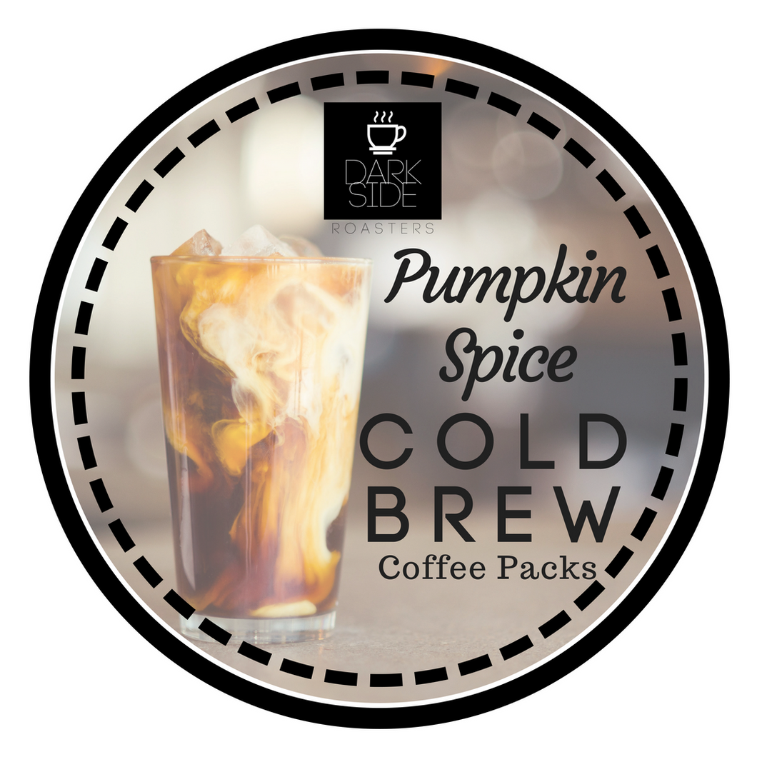 Pumpkin Spice Cold Brew Packs