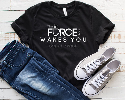 The Force That Wakes You Crew Neck Tee
