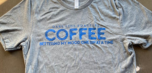 Coffee Bettering My Mood Crew Neck Tee