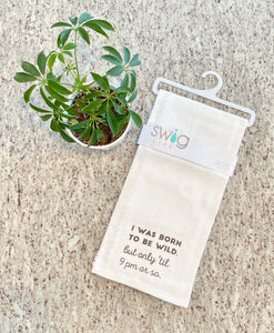 Born to be Wild Tea Towel
