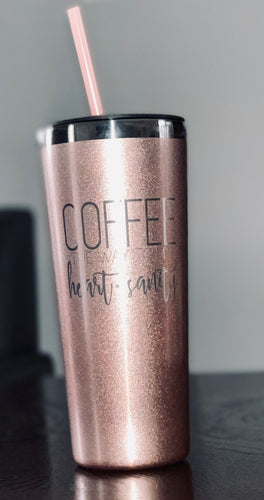 Heart & Sanity 22 oz Tumbler