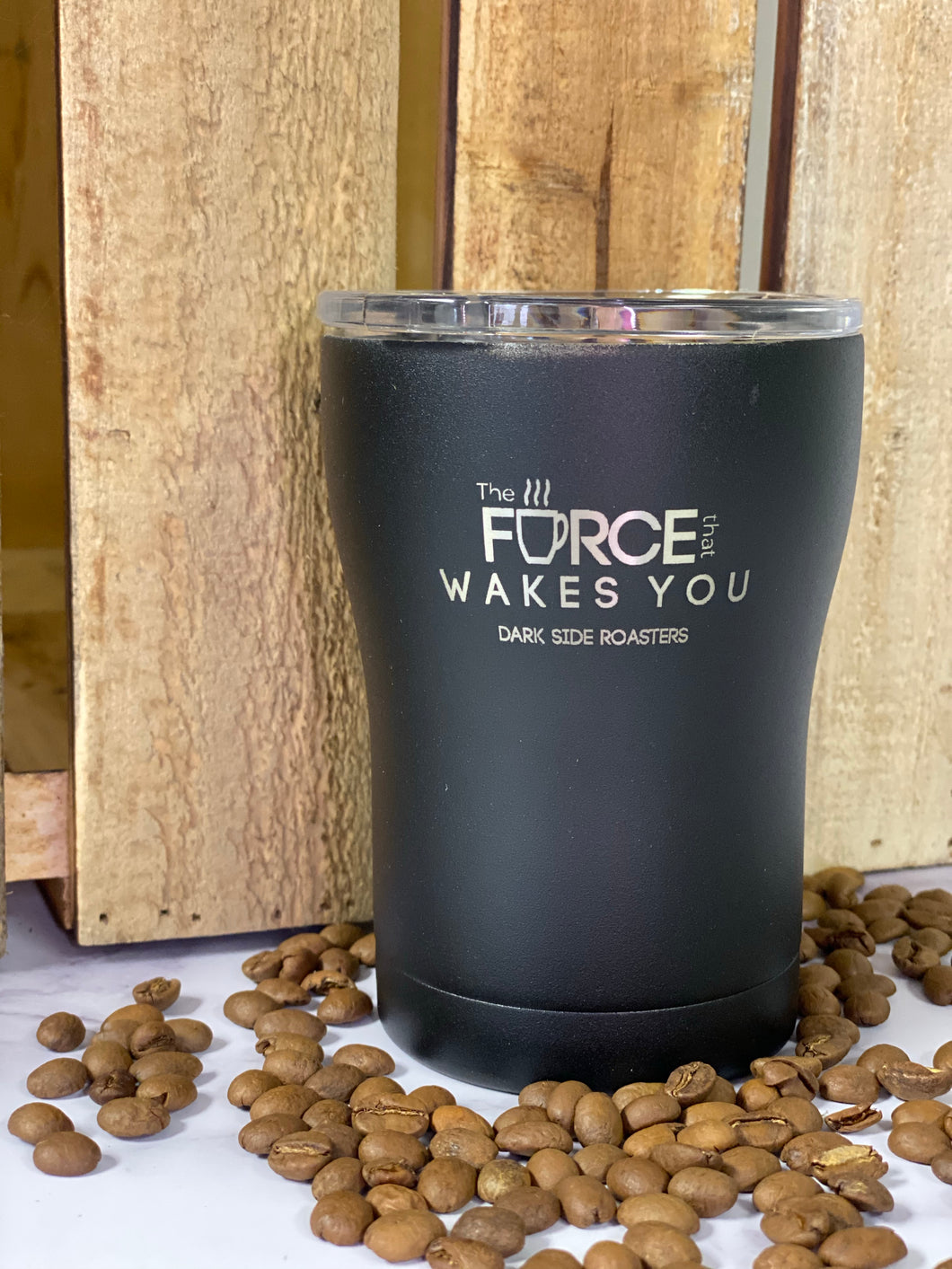 12oz SIC Tumbler-Force that Wakes You