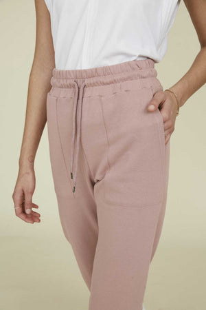 THE PUFF JOGGER in ROSE