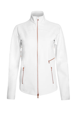 FORMULA JACKET in SOFT WHITE