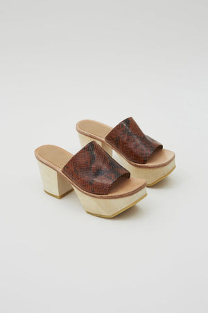 JIBE CLOG - BROWN