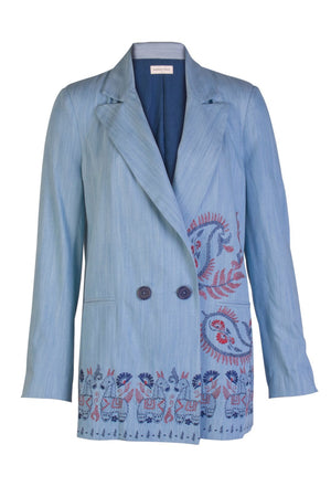 SELINA DENIM BLAZER