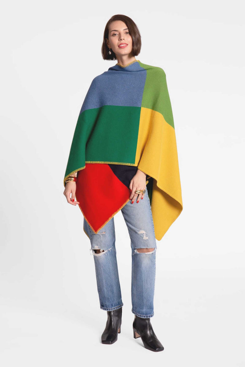 COLORBLOCK WRAP - MULTI
