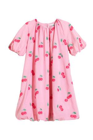 CLAUDETTE DRESS - CHERRY ROSE PINK