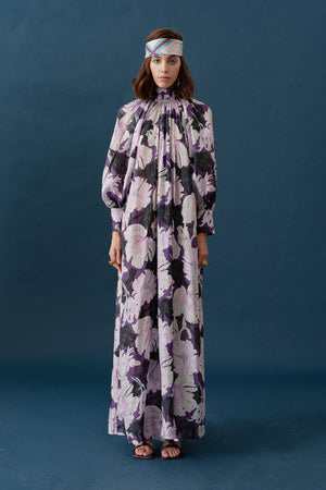 FARO DRESS - PURPLE FLORAL