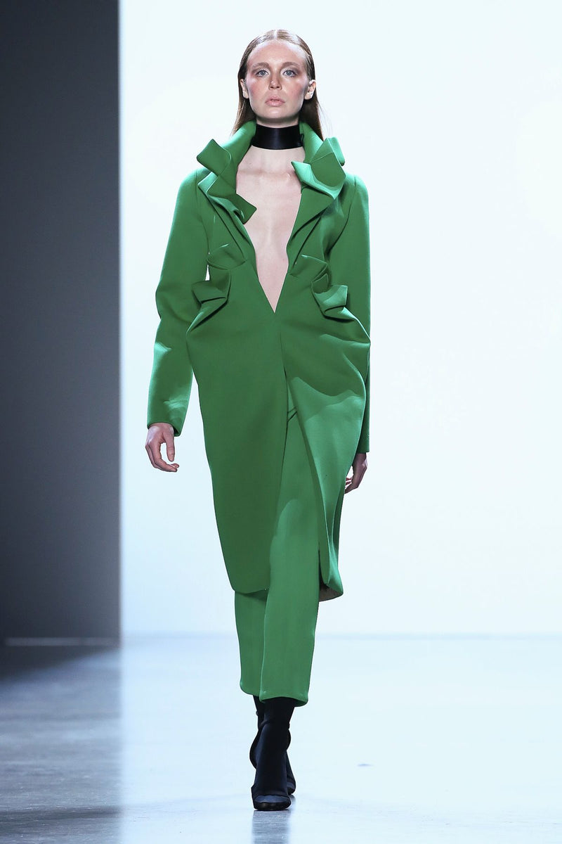 DELTA COAT - KELLY GREEN