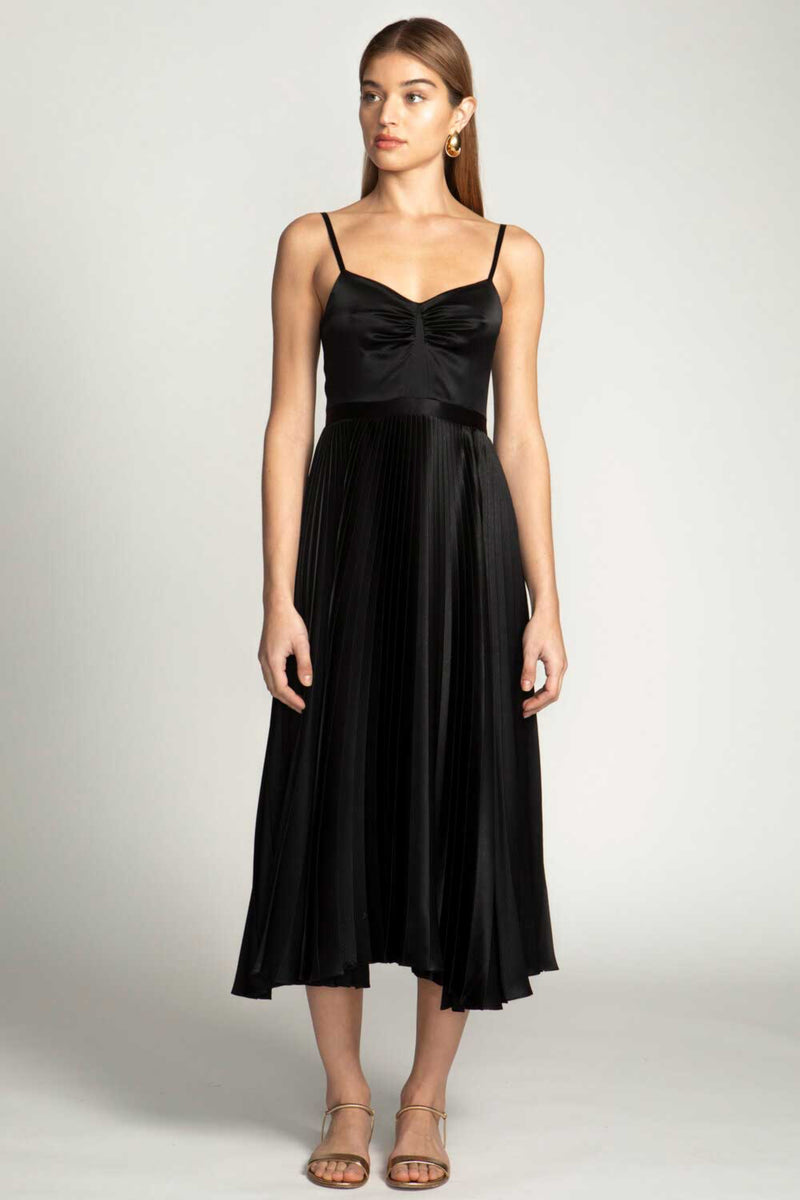 GEORGIANA DRESS - BLACK