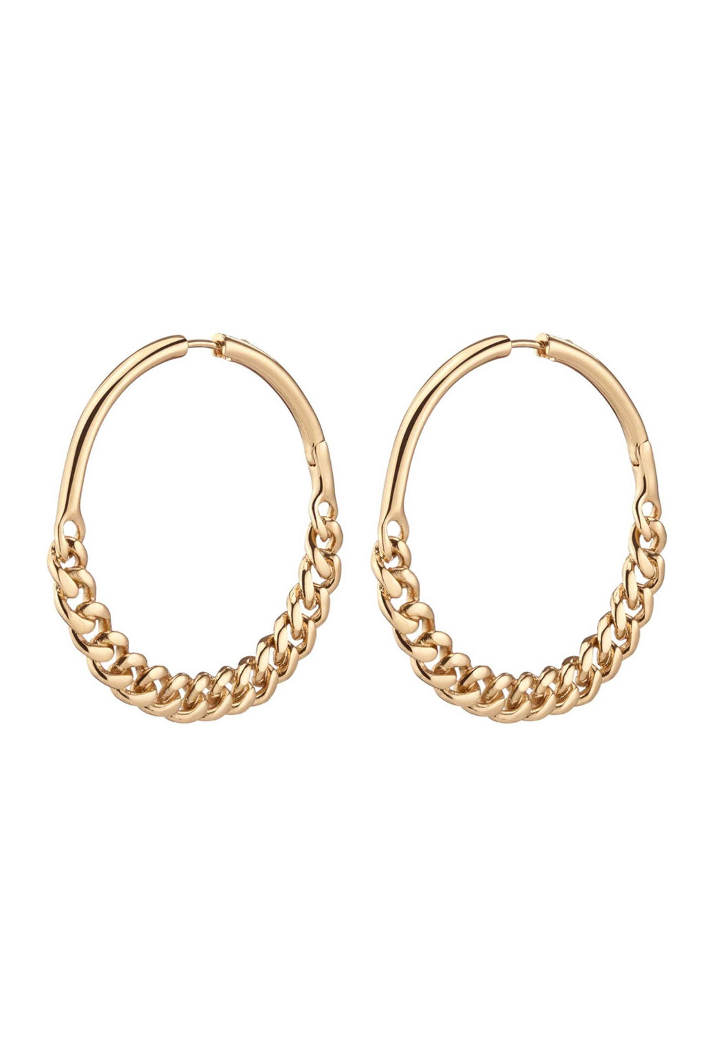 CRISTY HOOPS - GOLD