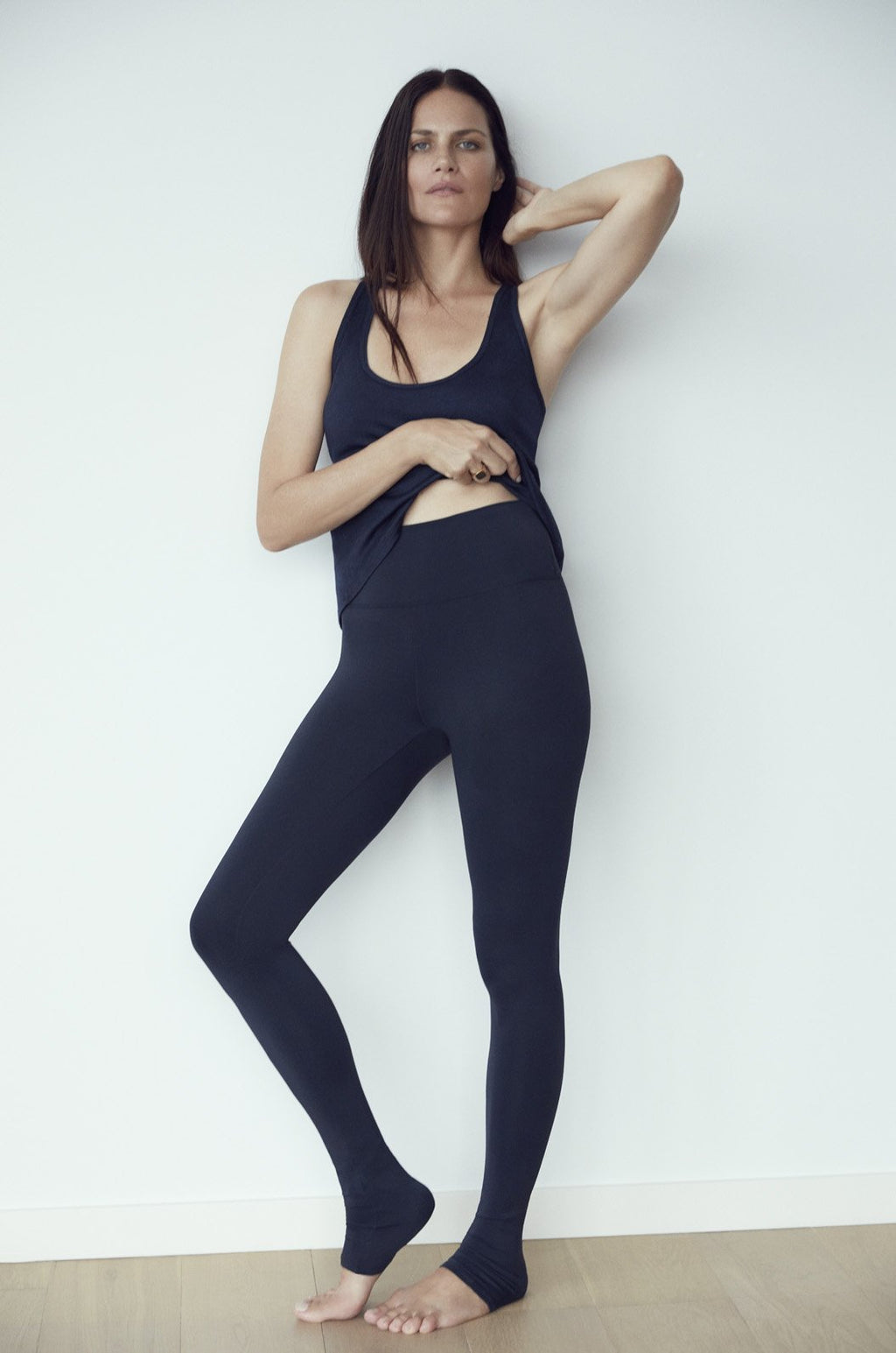 LUXE HIGH WAIST LEGGING - MIDNIGHT