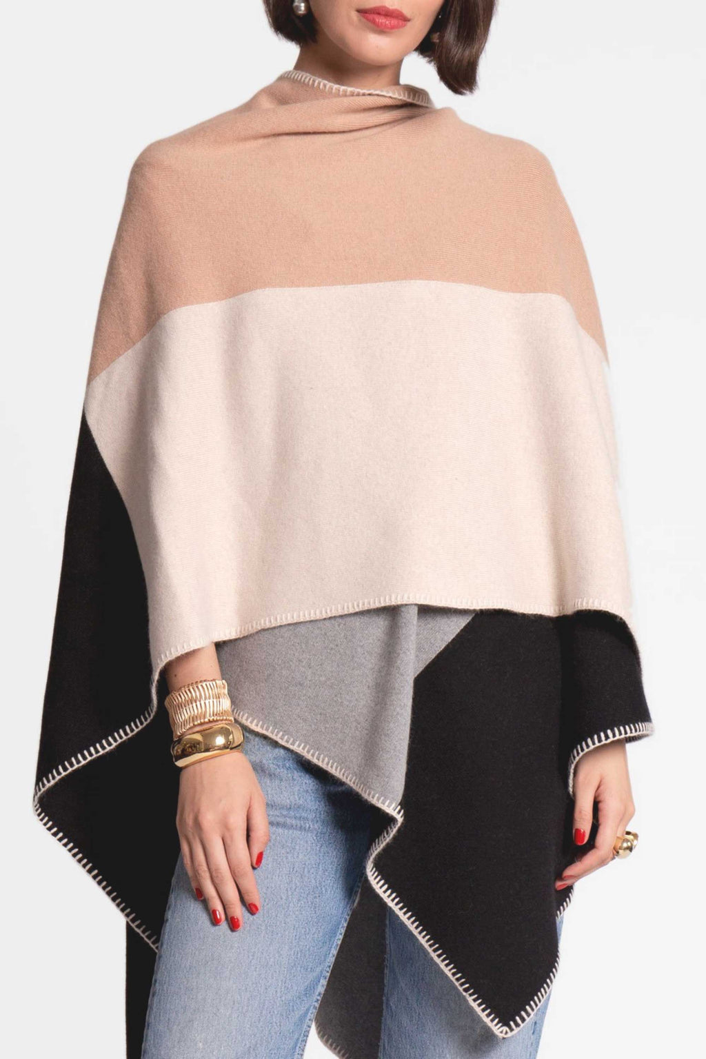 COLORBLOCK WRAP - NEUTRAL