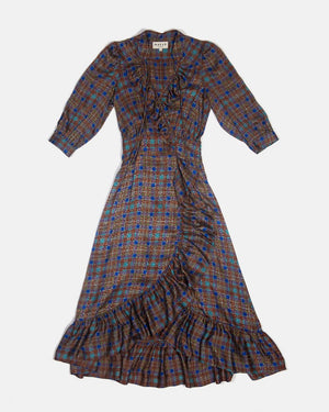 PALMA DRESS - COCO PLAID