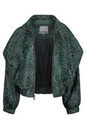 QHATÙ JACKET - FOREST GREEN