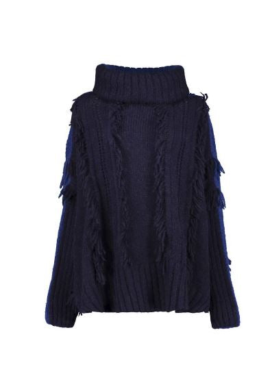 ROOTS SWEATER - NAVY / BLUE