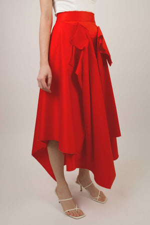 SAYA SKIRT - RED