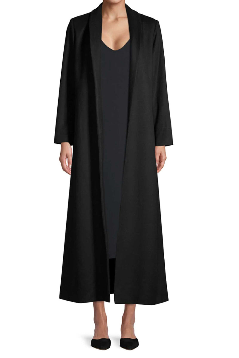 CHLOE CASHMERE COAT - BLACK